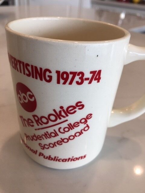 A PIECE OF THE ROCK: THE PRUDENTIAL INSURANCE NATIONAL ADVERTISING MUG 1973-1974