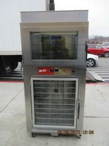 NU VU CONVECTION OVEN WITH PROOFER - WOW CONDITION