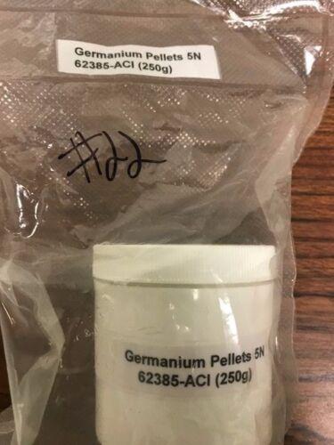 Germanium pellets 99.999%  50g