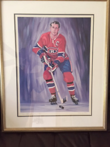 JEAN BELIVEAU LTD EDITION  FRAMED PRINT BY  LAPENSEE