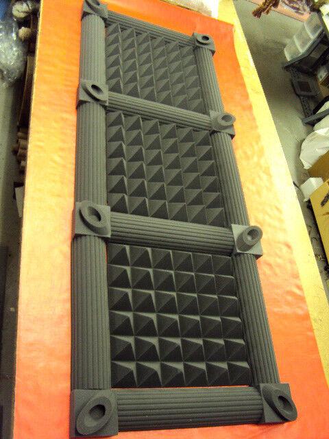 "4"" Thick Studio Acoustic Soundproofing Foam Tiles 36x96"