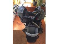 SOLD FOR £0 Graco Travel System and Cotbed