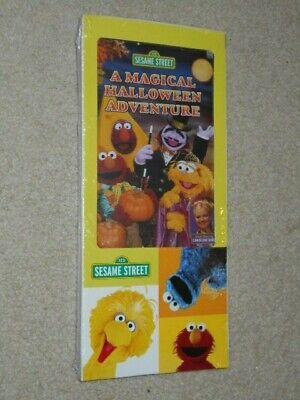 (NEW) Sesame Street - A Magical Halloween Adventure (DVD) - FREE - A Magical Halloween Adventure Dvd