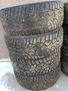 TWO SETS OF TIRES