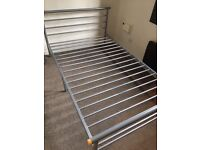 Small double bed frame for sale Already dismantled to fit in the car