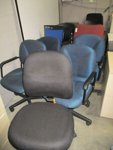 OFFICE CHAIR SALE-LARGE INVENTORY-NEW AND USED Peterborough Peterborough Area image 1