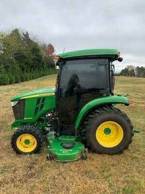 2017 John Deere 3046r 4x4 Deluxe Cab With 72 Belly Mower