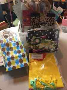 Gift bags, boxes, occasion cards (Engllish & French)