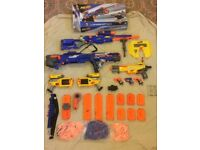 GREAT VALUE NERF BUNDLE. WILL MAKE GREAT XMAS PRESENT.
