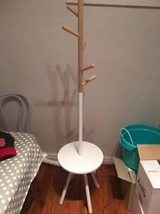 Wood and white hat stand for sale Woollahra Eastern Suburbs Preview