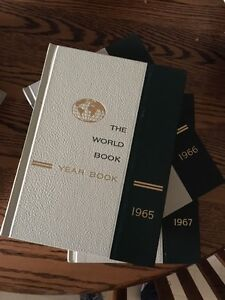 1962-1970 Yearbooks, World Book Encyclopedia: Unique bday gift?