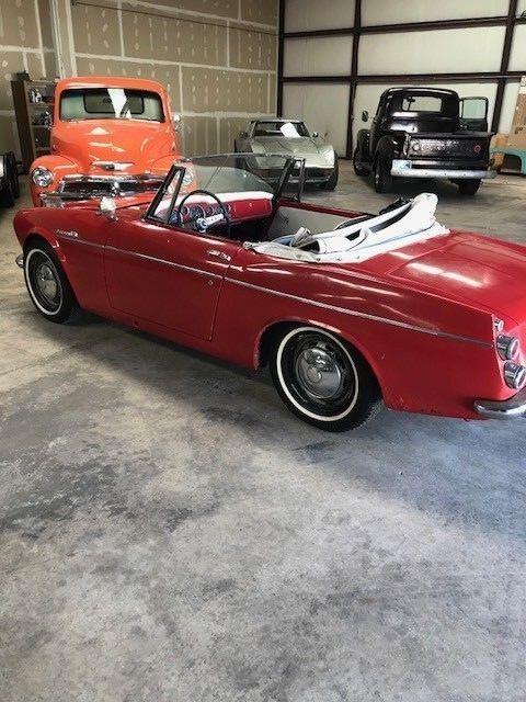 """1967 Datsun Z-Series  1967 Datsun 1600 """"Fairlady Roadster"""" NO RESERVE"""