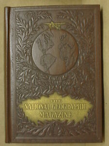 NATIONAL GEOGRAPHIC LEATHER BOUND VOLUME SETS