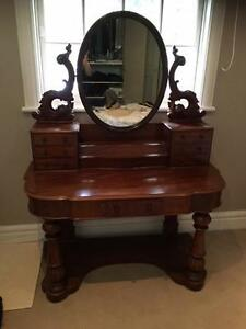 Victorian Mahogany Duchess Dressing Table (Circa 1860) Woollahra Eastern Suburbs Preview