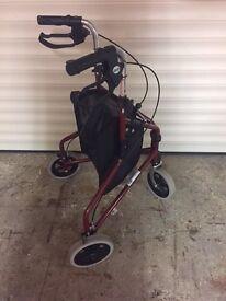 Drive 3 wheeled disability walker