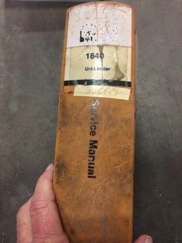 Case 1840 Skid Steer OEM Service Repair Manual