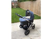 Uppababy Vista travel system - pram and stroller