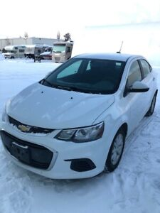 2017 Chevy Sonic- Nicely equipped, low kms