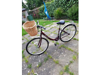 Used womens discovery bike with basket