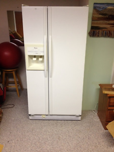 "Whirlpool Side By Side 30"" Refrigerator"