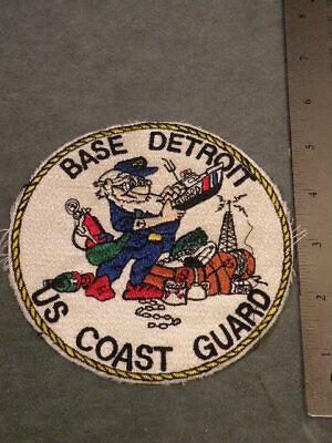 - 1970s US Coast Guard Station patch, Detroit, MI