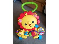 Fisher-Price Musical Lion Walker in very good condition