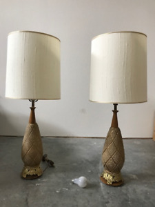 Retro table lamps