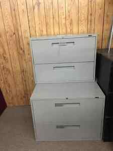VARIOUS SIZE  FILING CABINETS USED STARTING FROM $99-UP