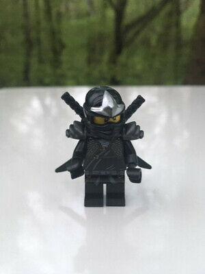 LEGO Ninjago Cole The Golden Weapons Black Ninja Minifigure