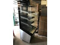commercial catering equipment upright hot display cabinet pie pizza cabinet bakery hot cabinet