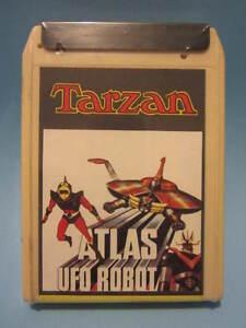 GOLDORAK-TARZAN-MAZINGER cassette 8 pistes Vintage