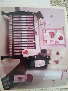 lady bug crib set For girls