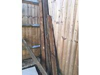 FREE! Used hardwood decking