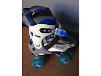 Typhoon Blue Adjustable rollerskates, size 12-2