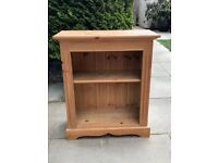 Solid Pine Bookcase - Good Condition