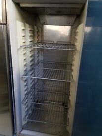STAINLESS STEEL UPRIGHT FRIDGE AST089