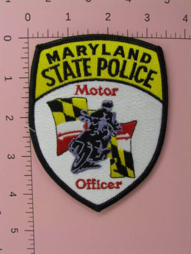 713 Maryland STATE POLICE MOTOR OFFICE Patch Motorcycle
