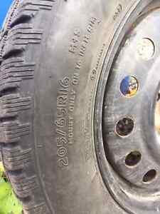 Cooper winter tires and rims Gatineau Ottawa / Gatineau Area image 3