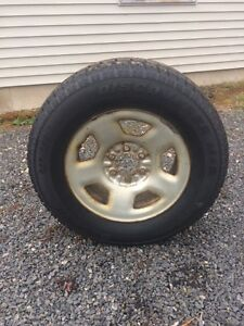 studded winter tires on 17 inch rims for sale