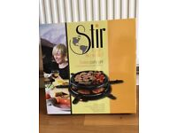 Swiss Party grill by Stir. Brand new unopened