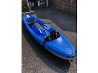 BIC TOBAGO SIT ON TOP 2 MAN KAYAK - GREAT CONDITION - HARDLY USED