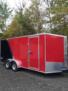 7 X 16 Pace American enclosed trailer