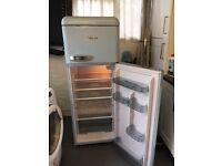 Swan fridge/freezer blue
