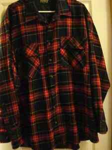 "Men""s Flannel Shirts  and gray vest Windsor Region Ontario image 2"