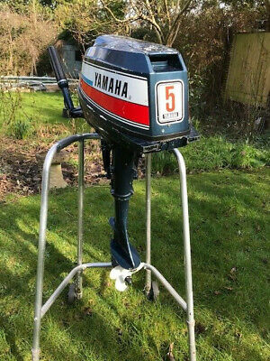 Yamaha 5hp short shaft outboard two stroke