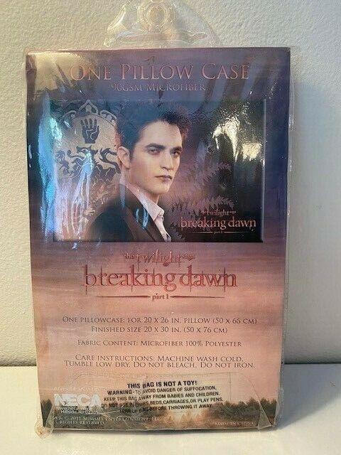 Breaking Dawn Part 1 Twilight Saga Movie Series Pillow Case Rare New NECA