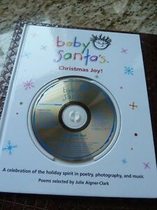 Baby Santa's Christmas Joy! By baby Einstein Book and CD set