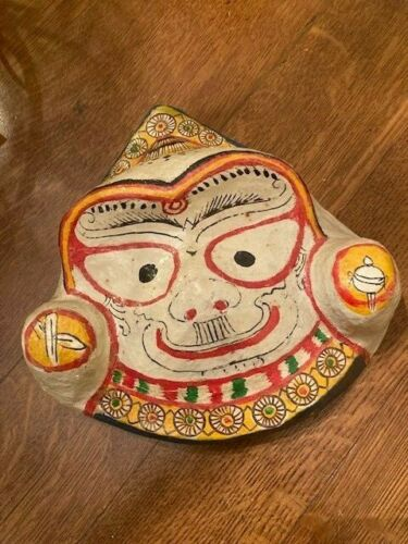 Antique Paper Mache Mask