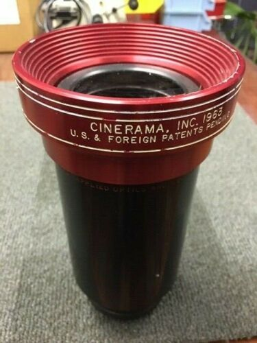 35mm CINERAMA Projection Lens