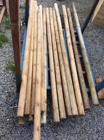 Timber Poles 2 inch, to make your own swing or anything else.